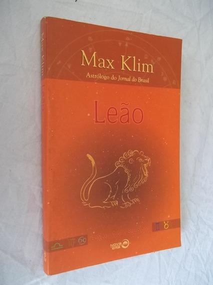 Livro - Max Klim Astrologo - Leão - Coleçao Voce E Seu Signo