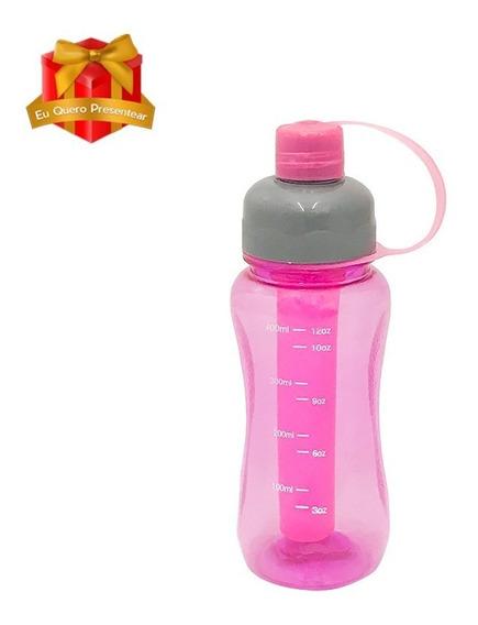 Squeeze De Plástico 400ml Com Termogel Congelável Moderno
