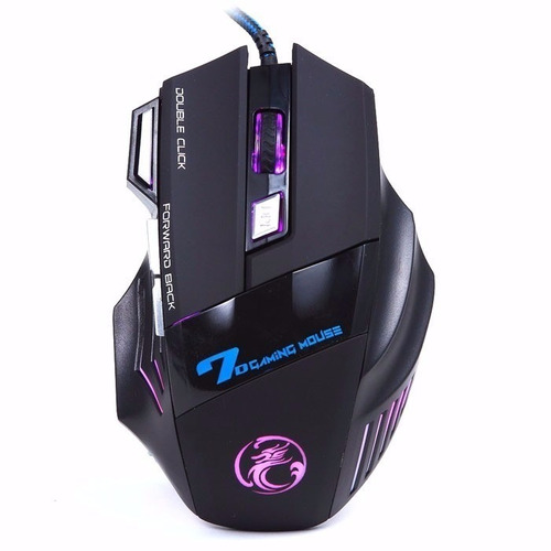 Mouse Gamer Usb  Ld 2400dpi 7 Botões Alta Precisão