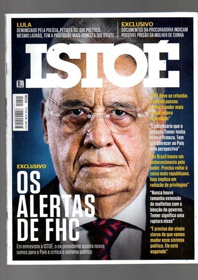 Revista Isto É Fernando Henrrique Cardoso Nº 2441 Ano 2016