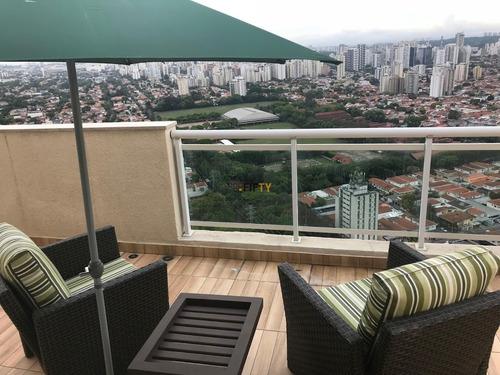 Cobertura, 175 M² - Venda Por R$ 3.900.000,00 Ou Aluguel Por R$ 22.000,00 - Brooklin - São Paulo/sp - Co1687