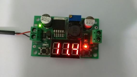 Lm2596 Regulador Tensão 3a Ajustavel Dc-dc Display Arduino