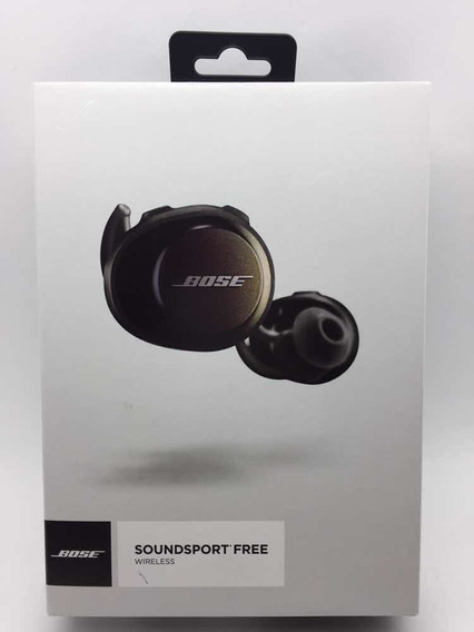 Fone De Ouvido Bose Soundsport Free In-ear Bluethooth Black