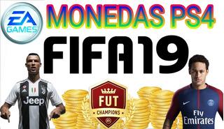 Monedas Ultimate Team Fifa19 Ps4 100.000 Monedas