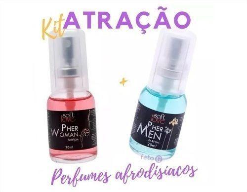 Kit Amor Ele E Ela Perfume Pher Woman E Pher Men Soft Love