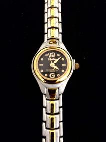 Relógio Feminino Cadina Preto Produto De Mostruário 015