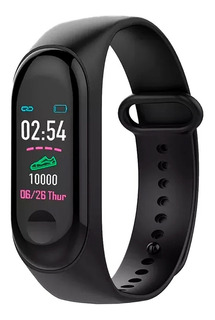 Relógio Medidor Inteligente Pulso Freqüência Cardíaca M3
