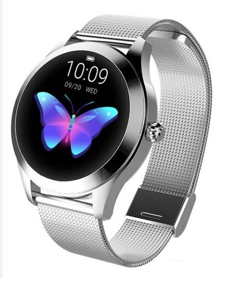 Relógio Feminino Smartwatch Kw10 Prova D