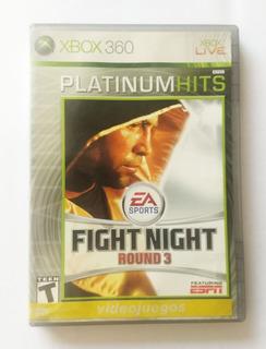 Videojuego Xbox 360 Fight Night Round 3 Original Uso Fisico