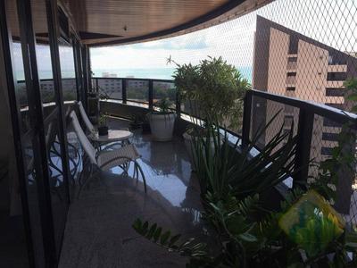 Apartamento Com 4 Quartos À Venda, 390m² Por R$ 2.600.000 Em Manaíra, João Pessoa, Ap0931 - Ap0931
