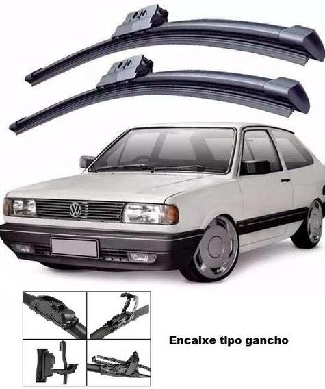 Kit Palheta Limpador Parabrisa Gol G1 Quadrado 1980 A 1996