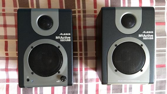 Monitor De Audio Caixa De Som Alesis M1active 320 Usb