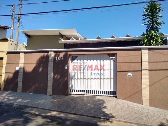 Casa Com 4 Dormitórios À Venda, 180 M² Por R$ 370.000,00 - Vila Nogueira - Botucatu/sp - Ca0917