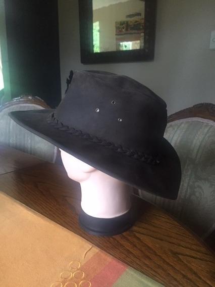 Sombrero Australiano Cuero
