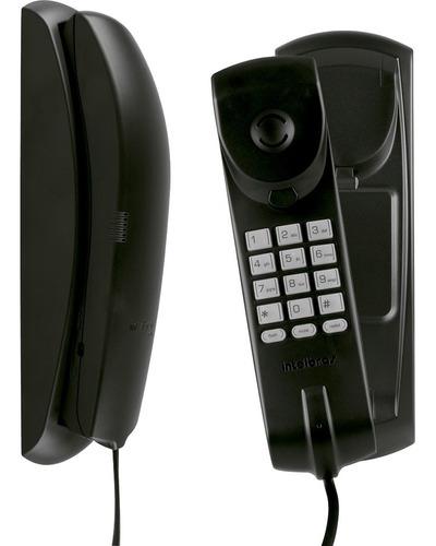 Imagem 1 de 3 de Telefone Com Fio Gandola Tc 20 Preto Intelbras