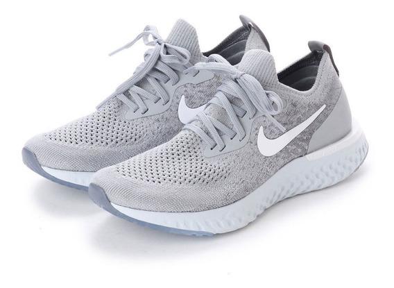 Zapatillas Nike Epic React Flyknit Grises