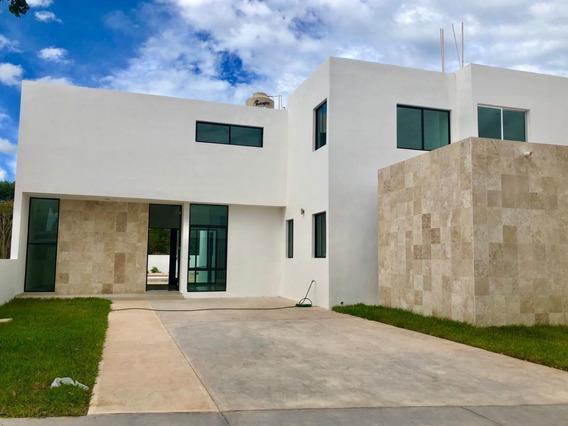 Vdr-17088 Bonita Casa En Venta En Lomas De San Antonio En Dzitya Con Piscina