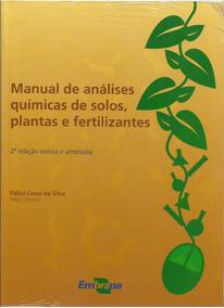 Manual De Análises Químicas De Solos, Plantas E Fertilizante
