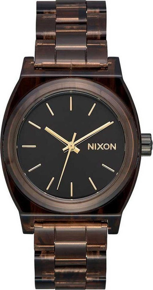 Reloj Nixon Unisex Marron Medium Time Teller A1214400