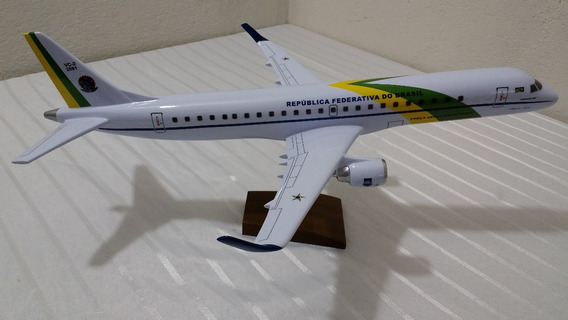 Miniatura De Avião 190 Presidencial