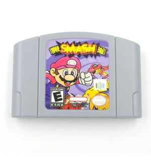 Super Smash Bras N64 Repro Videojuegos Rock