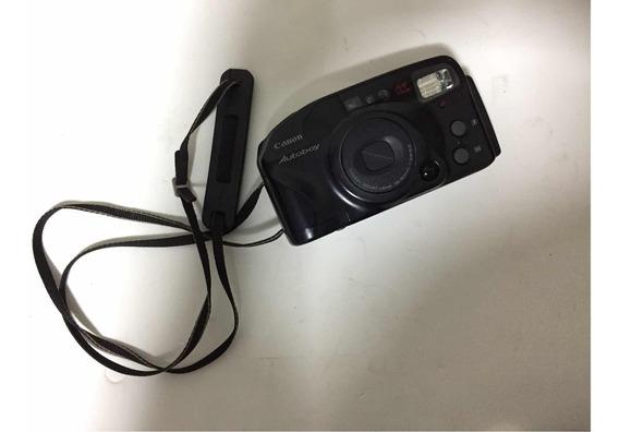 Camera Fotografica Canon Autoboy Antiga Leia
