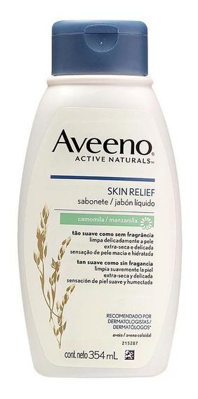 Sabonete Líquido Aveeno Skin Relief Camomila 354ml