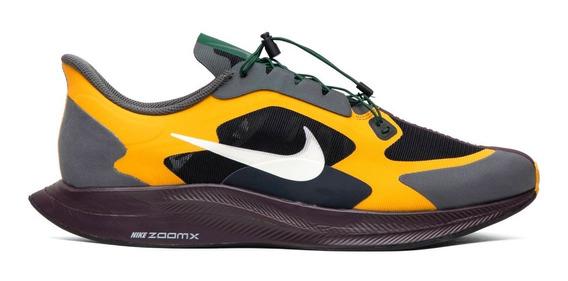 Tênis Nike Zoom Pegasus Turbo - Gyakusou Fir/gold