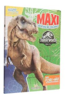 Libro Gigante Dinosaurios Jurassic World Con Pizarra Mágica
