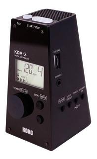 Metrónomo Digital Korg Kdm-3 Con Salida Auricular - Cuotas