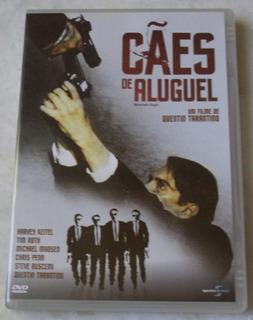 Dvd Original Cães De Aluguel Novo