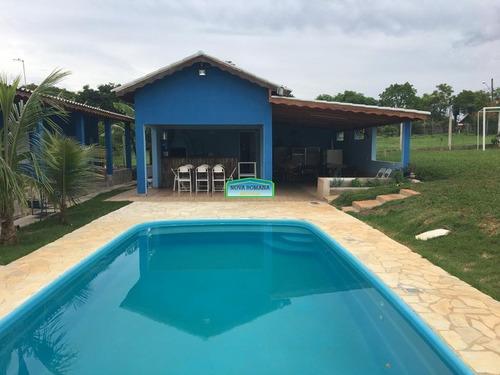 Imagem 1 de 15 de Chacara - Avecuia Do Alto - Ref: 5963 - V-5963