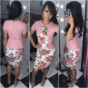 Vestidos Roupas Femininas Colete Sobreposto Barato Promoção