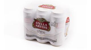 Cerveza Stella Artois Lata 473ml Pack X 6 Unidades.