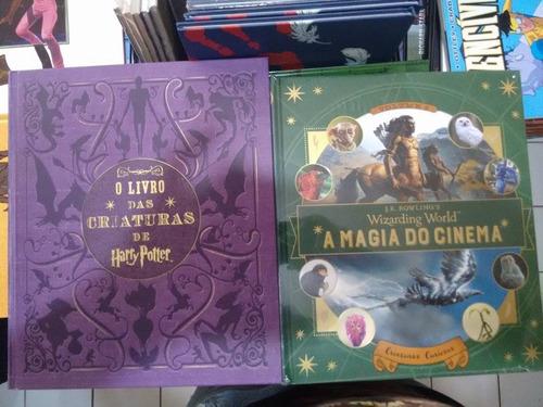 Harry Potter Magia Do Cinema 2 + O Livro Das Criaturas