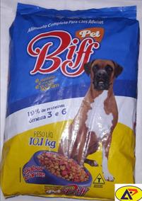 Ração Para Cães Adutos Pet Biff 10,1kg Carne 19% Proteína