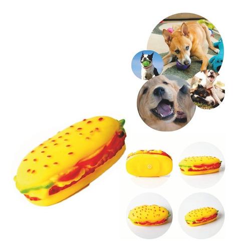 Sanduiche Sonoro Interativo Cachorro Brinquedo Pet 123útil