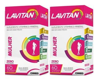 Kit 2x60 Lavitan Mulher (120 Comprimidos)