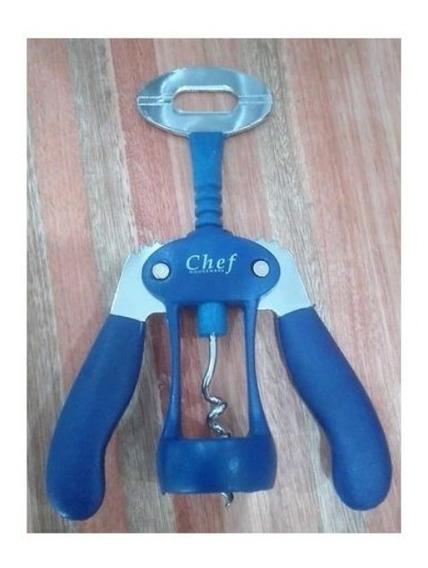 Sacacorcho Chef Houseware Doble Aleta - La Plata