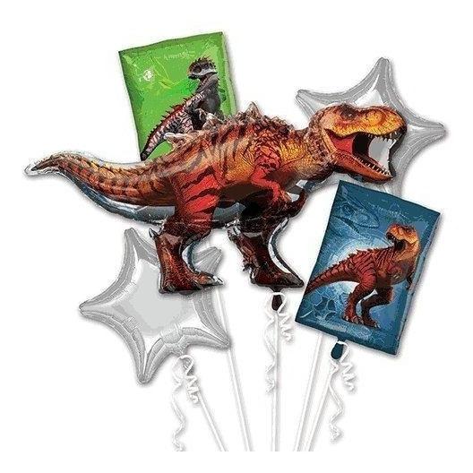 Ramo De Globos De Dinosaurio Del Mundo Jurásico