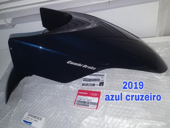 Para-lama Honda Pcx150 Azul Cruzeiro 2019 Novo Original