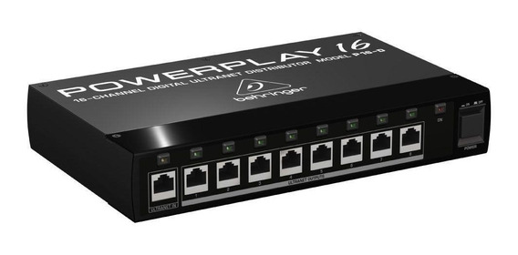 Distribuidor Sistema De Monitor Powerplay Behringer P16-d