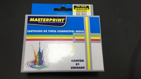 Cartucho De Tinta Compatível To-483 Magenta