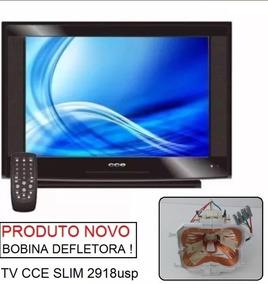 Bobina Defletora Tv Cce Slim 2918usp