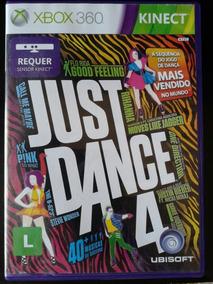 Just Dance 4 Xbox 360 Kinect Completo Mídia Física Português