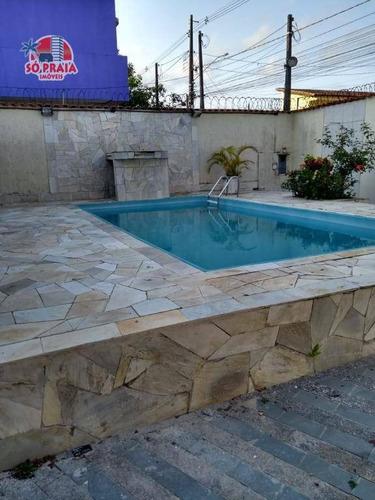 Imagem 1 de 23 de Casa Com Piscina E 3 Dormitórios À Venda, 141 M² Por R$ 350.000 - Jardim Magalhães - Itanhaém/sp - Ca5309