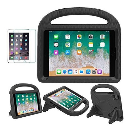 Eva - Funda Con Protector De Pantalla Para iPad Mini 1/2/3/4