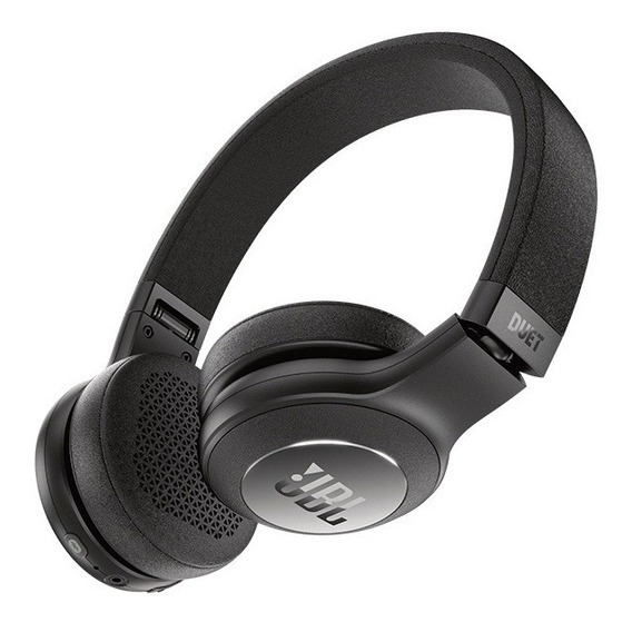 Fone De Ouvido Jbl Duet On Ear Bt Preto Bluetooth Original