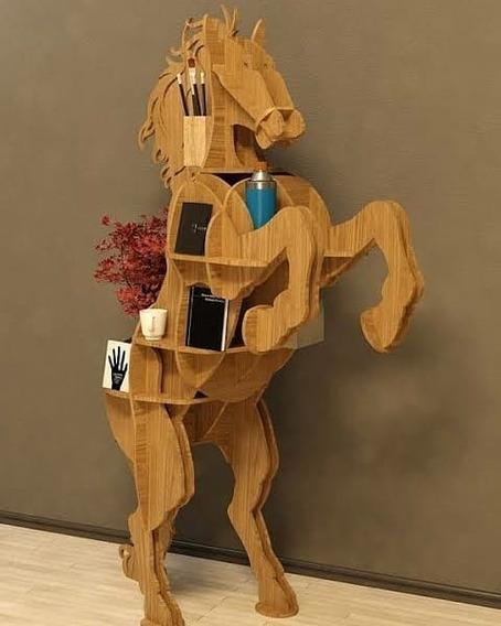 Estante E Escrivaninha Horse