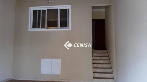 Casa Com 3 Dormitórios À Venda, 100 M² Por R$ 426.000,00 - Vila Avaí - Indaiatuba/sp - Ca1952